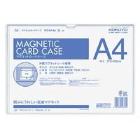 KOKUYO(コクヨ)マグネットカードケース A4 内寸法213x302mm 白マク-614W (10セット)