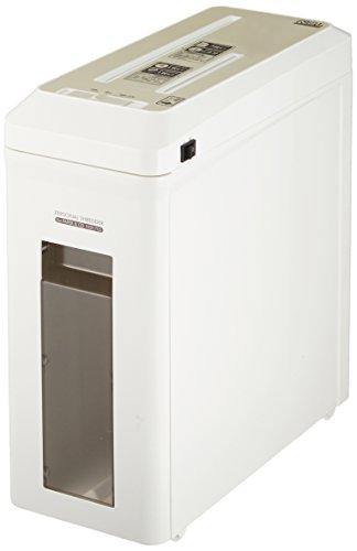 ナカバヤシ パーソナルシュレッダ CD・DVD スリムタイプ ホワイト NSE-702W