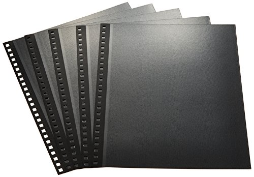 送料無料 561円×30セット 完全送料無料 公式通販 Nakabayashi ナカバヤシ 100年台紙 アH-JHR-5-D ブラック 4ツ切5枚入り 30セット