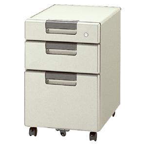 PLUS(プラス)デスク/スタンダードデスク/リンクスシリーズ(共通オプション)・サイドキャビネット LX-046SC-3 LGY