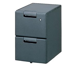 PLUS(プラス)デスク/スタンダードデスク/リンクスシリーズ(共通オプション)・サイドキャビネット LX-046SCA2 DGY