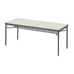 PLUS(プラス)会議テーブル/ミーティングテーブル/YB2・YB2 会議テーブル YB-625 WS/BK