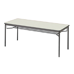 PLUS(プラス)会議テーブル/ミーティングテーブル/YB2・YB2 会議テーブル YB-620 WM/BK