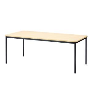 PLUS(プラス)会議テーブル/ミーティングテーブル/YB2・YB2 会議テーブル YB-625N WM/BK