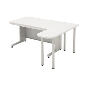 PLUS(プラス)デスク/スタンダードデスク/LAデスク(共通オプション)・サイドテーブル LA-7DT-ST W/W
