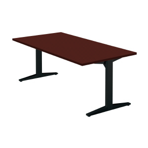 PLUS(プラス)会議テーブル/ミーティングテーブル/STAGEO・ステージオ 会議テーブル ST-180TR WM/M4