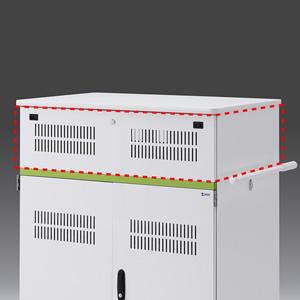 サンワサプライ タブレット収納保管庫用追加収納ボックス(44台収納タイプ用) CAI-CABBOX44
