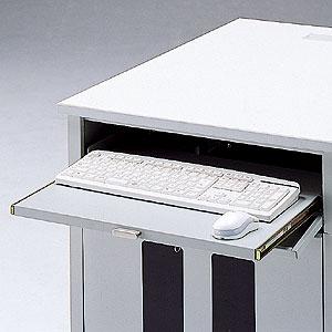 サンワサプライ 鍵付きキーボードスライダー DSK-SVKB