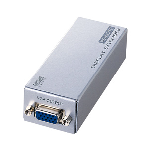 サンワサプライ ディスプレイエクステンダー(受信機) VGA-EXR