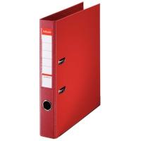 ESSELTE  レバーアーチファイル 48073 A4S 赤 10冊 2147345291293