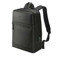 ウノフク USBボート付バッグパック 13-6074 黒 4536534055910