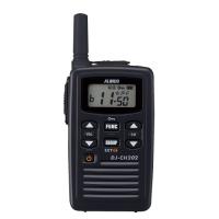 アルインコ  特定小電力トランシーバー DJ-CH202(S) 4969182361353