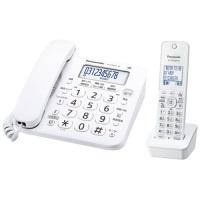 Panasonic  コードレス電話器 VE-GD26DL-W 4549980013939
