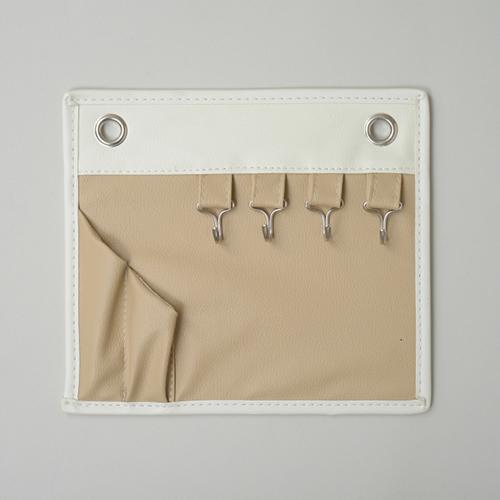 東洋ケース キーフック&ペンスタンド マグネットポケット コンパクト よこ23×たて20cm ベージュ ENT-MGP-BE (20セット)
