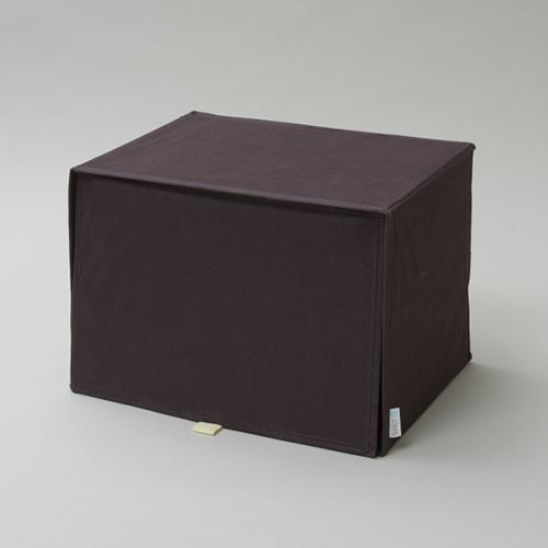 東洋ケース 収納ボックス シサック 上置き よこ35×たて26cm ブラウン CQ-UO-BR (20セット)