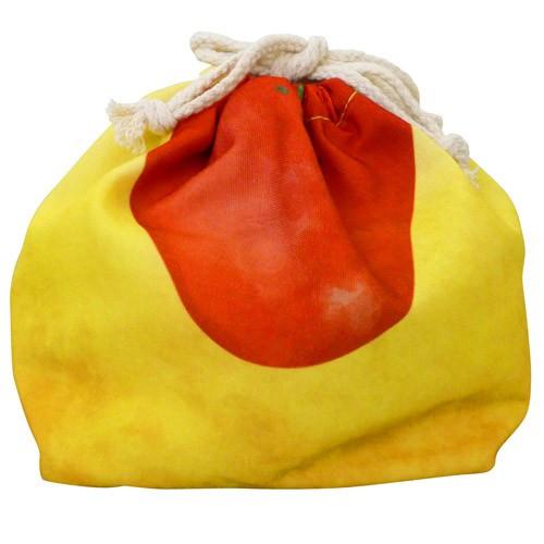 東洋ケース 巾着袋 保冷機能有り アルミ蒸着シート使用 おかずきんちゃく オムライス KT-OK-OMU (60セット)