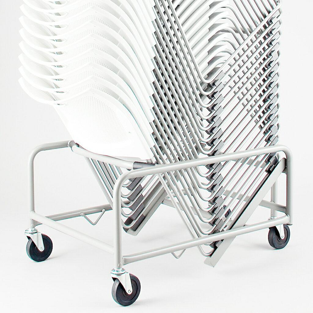 【法人様限定】【台車】 ミーティングチェア スタッキングチェア 会議椅子 スタックチェア 会議チェア 会議用椅子 会議室用椅子 積重 積み重ね 収納 会議 会議用 椅子 R-XAMC30