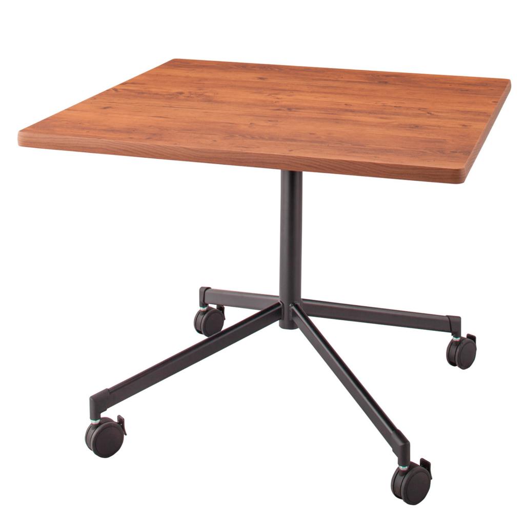 【送料無料】 教育家具 キャスター付丸テーブル