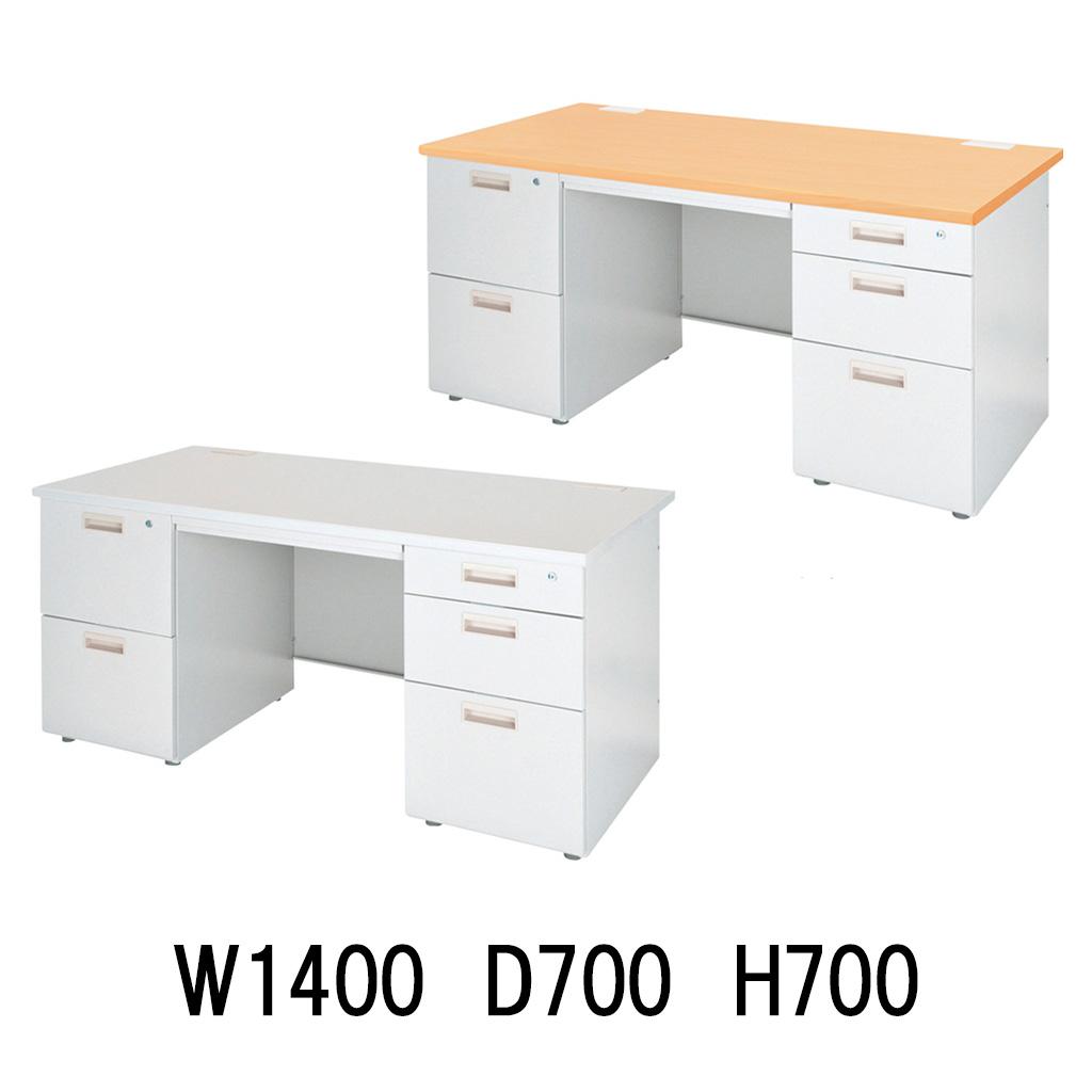 【法人様限定】 オフィスデスク 事務机 パソコンデスク 事務デスク デスク 机 事務用 R-OFD-147W