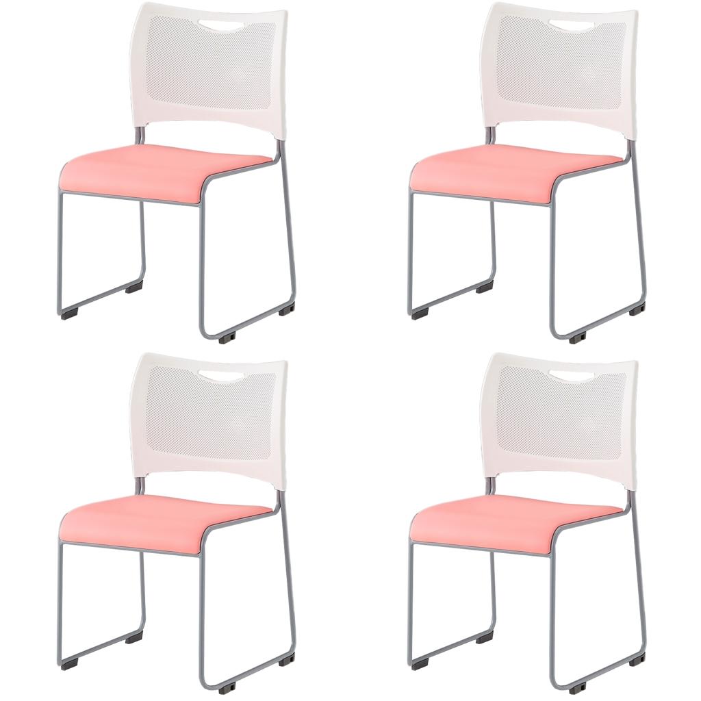 大人気のミーティングチェア スタッキング8脚まで可能 省スペース収納 新登場 4脚セット ミーティングチェア スタッキングチェア 組立不要 収納 アイリスチトセ オフィス家具 会議用椅子 積重 会議チェア 会議 公式ストア 会議椅子 R-MCX-02-V 椅子 スタックチェア 会議用 会議室用椅子