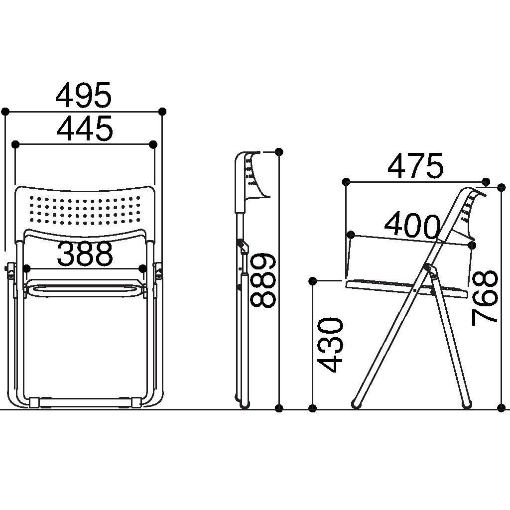 【法人限定】【5脚セット】(¥4,644/脚) 折りたたみ椅子 パイプ椅子 折りたたみチェア 折りたたみ 椅子 イス いす チェア パイプいす パイプイス 折り畳み椅子 折り畳みイス 折りたたみいす 会議イス 会議いす 会議椅子 会議 パイプ 椅子 軽量 学校 セミナー 研修
