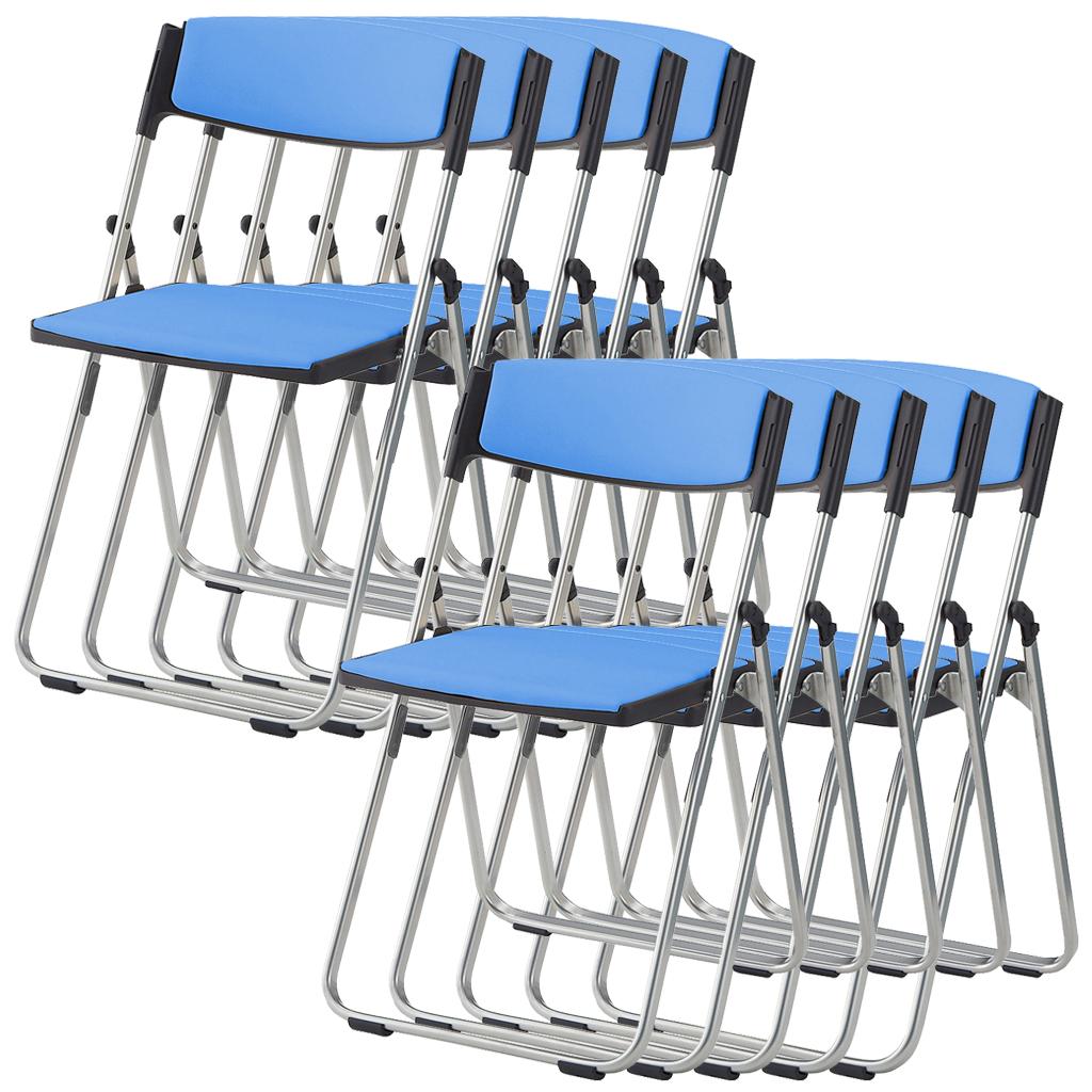 【法人限定】【5脚セット】(¥4,968/脚) 折りたたみ椅子 パイプ椅子 折りたたみチェア 折りたたみ 椅子 イス いす チェア パイプいす パイプイス 折り畳み椅子 折り畳みイス 折りたたみいす 会議イス 会議いす 会議椅子 会議 パイプ 椅子 軽量 学校 セミナー 研修