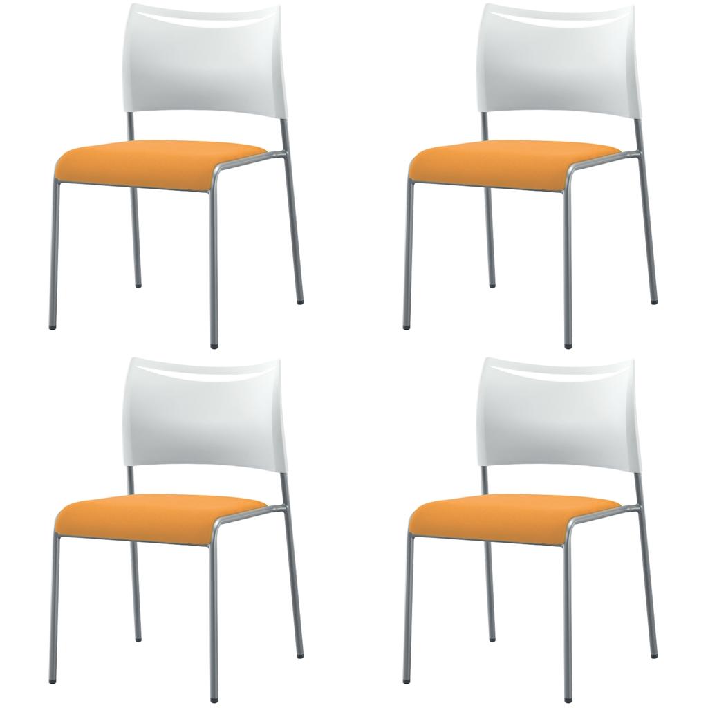 【法人様限定】【4脚セット】ミーティングチェア スタッキングチェア 組立不要 積み重ね 収納 アイリスチトセ オフィス家具 会議椅子 スタックチェア 会議チェア 会議用椅子 会議室用椅子 積重 会議 会議用 椅子 【4脚セット】 R-LTS-4F