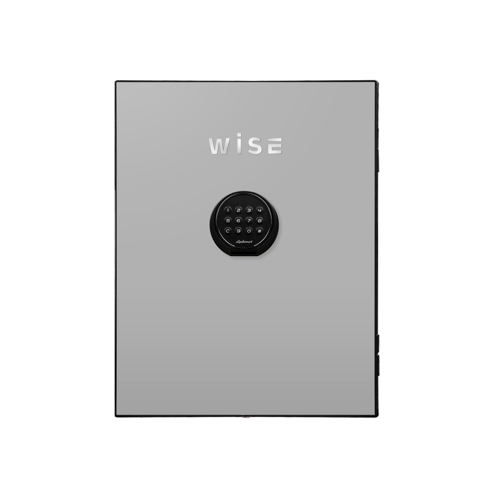 デジタルテンキー式 デザイン金庫用フェイスパネル 容量5Kg ライトグレイ R-WS500FPLG