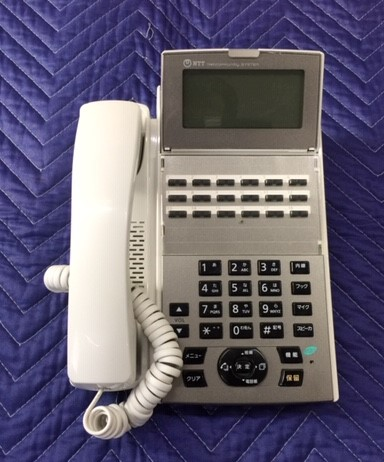 NTTNX2- 18 STEL- 1 中古 ついに再販開始 流行 18ボタンスター標準電話機ホワイト W