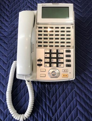 商品 NTTNX- 国内正規総代理店アイテム 36 STEL- 1 36ボタンスター標準電話機ホワイト W 中古