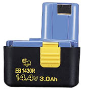 HiKOKI(旧日立工機)0032-206614.4Vニッケル水素電池(冷却対応) EB1430R!