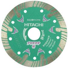 HiKOKI(旧日立工機)0032-4704ダイヤモンドカッタープロテクタタイプ204mm×25.4(波形)