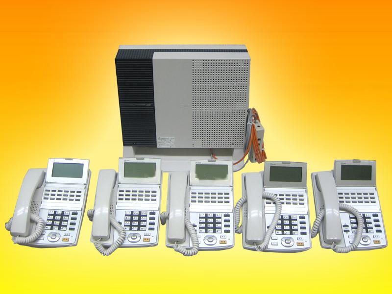 新規開業スタートパック配線設定済ビジネスフォン工事費不要NTTαNX-S電話機5台電話番号回線組込み設定済み配線コードセット販売※法人限定:個人の方は申し込みできません。