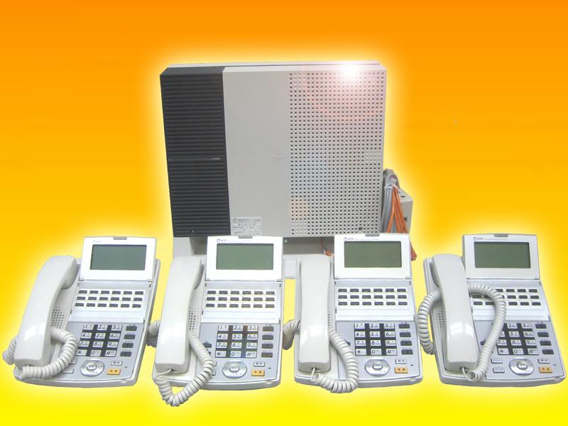 新規開業スタートパック配線設定済ビジネスフォン工事費不要NTTαNX-S電話機4台電話番号回線組込み設定済み配線コードセット販売※法人限定:個人の方は申し込みできません。