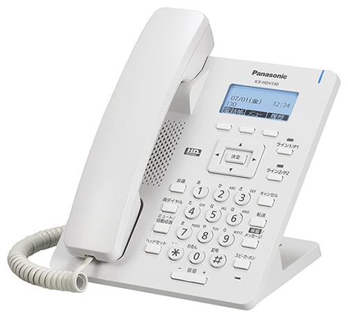 SIP電話とAC電源アダプタのセットテレワーク リモートワークに最適です Panasonic パナソニックKX-HDV130N SIP電話機ベーシックモデルと専用電源アダプターのセット 激安セール 爆売り 新品 KX-A423N 白