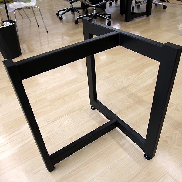 OFFICE PORTAL オリジナル 一枚板用 テーブル脚 T型 一枚板脚 アイアン