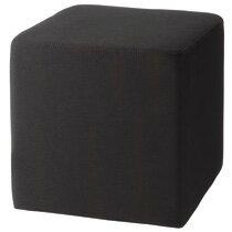 キューブソファ ブラック スツール【4個セット】ハピラ CS0404BK※1個当たり4,860円