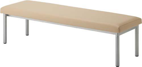 ハピラ【送料無料】HPF0402-001AYベーシックベンチ ベージュ  ソファー W1500