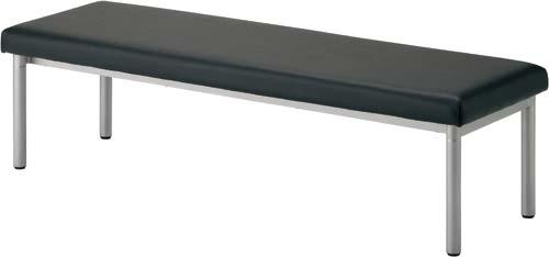 ベーシックベンチ ソファーブラック W1500HPF0402-001BK