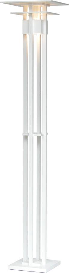 LED照明 フロアスタンド型 F3210LE-W 【 CLASSICAL-LED クラシカル 】 【 E26 LED電球 6.2W×1 電球色 】 【 MDF 白色 】 【 H1755×W□350 】 【 フットスイッチタイプ 】 【 省エネ 】  dcs デザイン照明