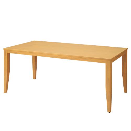 PLUS JOINTEX 木製テーブル HR-T1890 1台 【 アジャスター付き 】 【 W1800×D900×H750 】 【 天然木仕様 】 ※ お客様組立商品 ※ 有料で組立可能