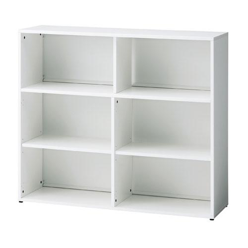 PLUS オープン収納庫 BF2-A72E 1台 【 アジャスター付き 】 【 W505×D340×H632 】 【 選べる天板カラー 全2色 】 b-Foret ※ お客様組立商品 ※ 有料で組立可能 ※