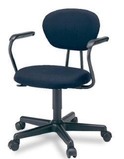 プラス ジェスティックチェア ゼネラルタイプ[Jestic] KB-121SL[選べる張地カラー全4色][ローバック][L型肘付き][背ロッキング][ガス圧上下昇降][カーペット用キャスター][事務用回転椅子]SOHO・自宅、医療、福祉施設・病院・公共施設・学校、学習塾向け