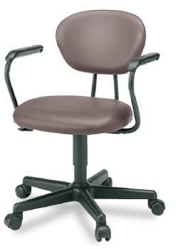 プラス ジェスティックチェア ゼネラルタイプ[Jestic] KB-121NL[選べる張地カラー全4色][ローバック][L型肘付き][背ロッキング][ガス圧上下昇降][カーペット用キャスター][事務用回転椅子]SOHO・自宅、医療、福祉施設・病院・公共施設・学校、学習塾向け