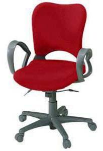 プラス製 オーバルチェア(Oval) KB-Z13SEL[選べる張地カラー全8色][ミディアムグレーシェル][ハイバック][ループ肘付][ナイロンキャスター]事務用回転椅子] 快適な座り心地 SOHO・自宅、医療、福祉施設・病院・公共施設・学校、学習塾向け