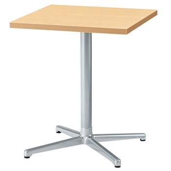 プラスジョインテックス シングルレッグテーブル SC-X0606K[ナチュラルビーチ色][アジャスター付]オフィス,SOHO,カフェ,リフレッシュスペース,ご自宅,医療,福祉施設,病院,公共施設,学校,学習塾向け