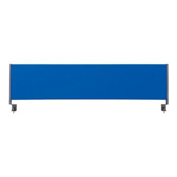 林製作所 1400Wデスク用デスクトップパネル マグネットタイプ YSP-C140[W1390×D65×H408mm][ブルー色]【お客様組立】