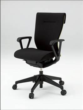 コセールチェア 【 ハイバック 】 【 樹脂脚 T1 】 【 肘付き ループ肘 】 【 選べる布張りカラー GS + プレーンバック GB 】 【 フリーロッキング 】 コセール チェア coser 事務用椅子 PCチェア OAチェア パソコンチェア デスクチェア オフィスチェア