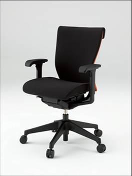 コセールチェア 【 ローバック 】 【 樹脂脚 T1 】 【 肘付き 可動肘 】 【 選べる布張りカラー GS + プレーンバック GB 】 【 フリーロッキング 】 コセール チェア coser 事務用椅子 PCチェア OAチェア パソコンチェア デスクチェア オフィスチェア