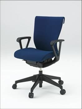 コセールチェア 【 ローバック 】 【 樹脂脚 T1 】 【 肘付き ループ肘 】 【 選べる布張りカラー GS + プレーンバック GB 】 【 フリーロッキング 】 コセール チェア coser 事務用椅子 PCチェア OAチェア パソコンチェア デスクチェア オフィスチェア